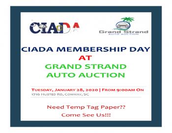CIADA Membership Day